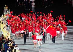 身着九牧王礼服,中国体育代表团享最高级别礼遇